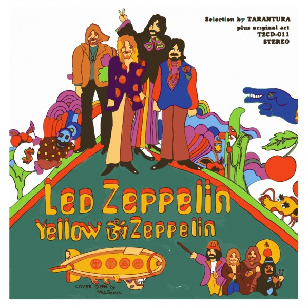 Led Zeppelin Yellow Zeppelin