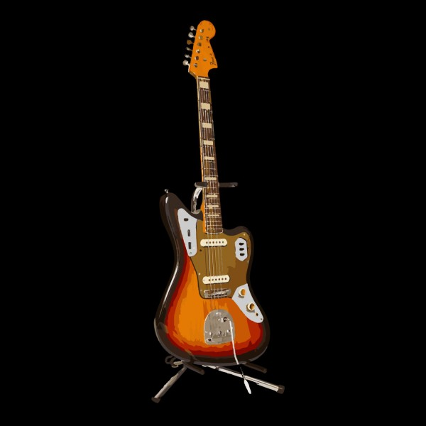 Fender Jaguar Gold Guard