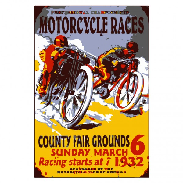 1932 Motorcycle Racing