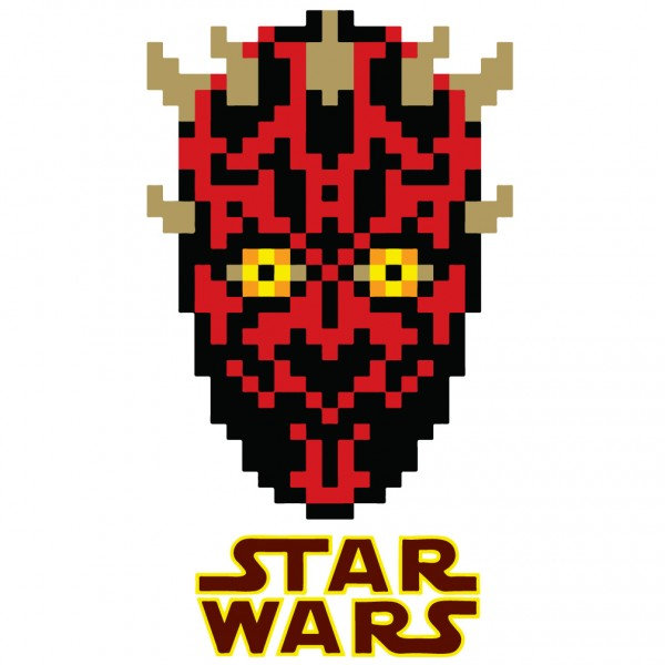 8 Bit Darth Maul