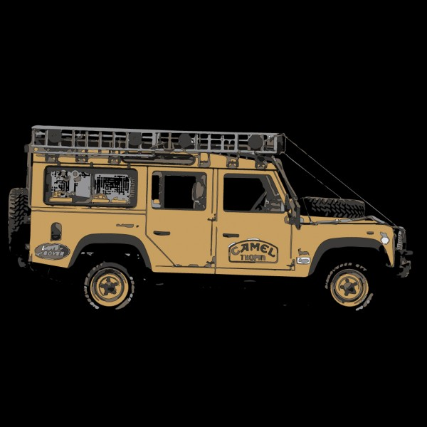 Land Rover Camel Trophy 110