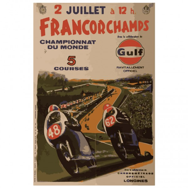 Francorchamps Motorcycle Race