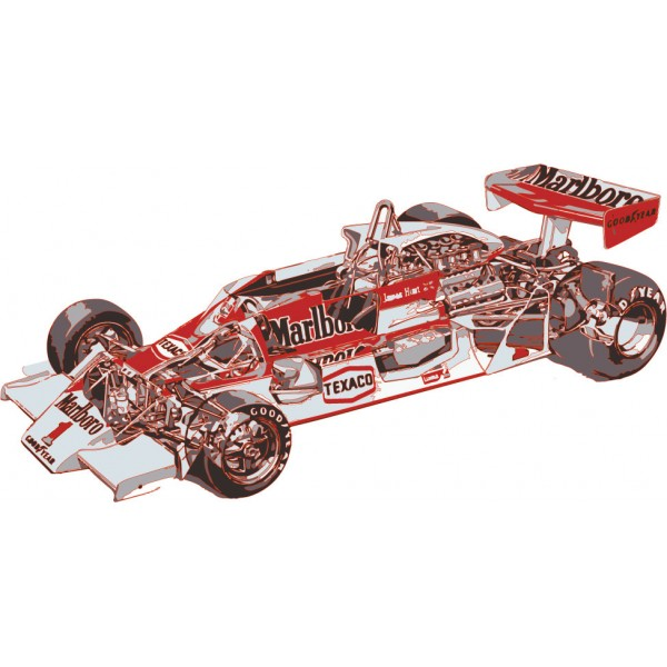 James Hunt F1 Car