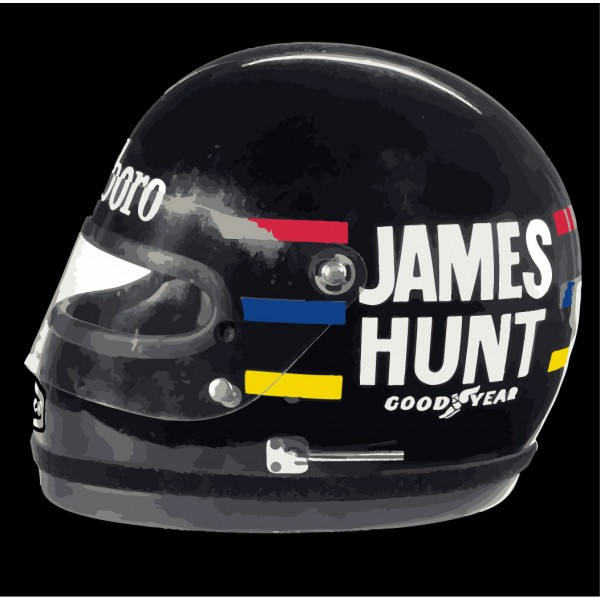 James Hunt Helmet