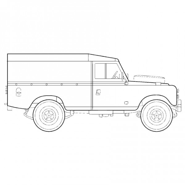 Land Rover 109 Version 2