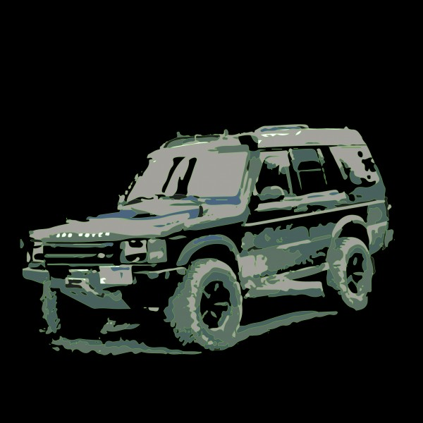 Land Rover Discovery 1 Mountains