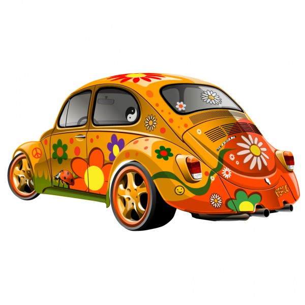 VW Hippy Bug