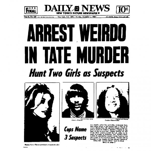 Arrest In Tate Murders