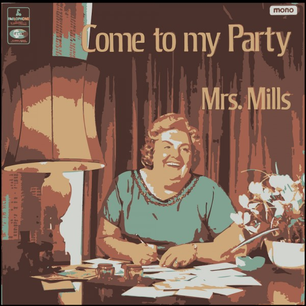 Bad Album Cover - Come To My Party