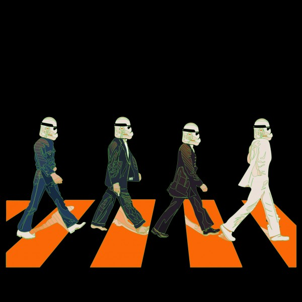 Beatles Abbey Road - Star Wars