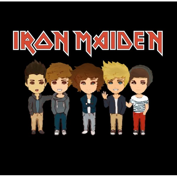 Iron Maiden - One Direction Parody 2