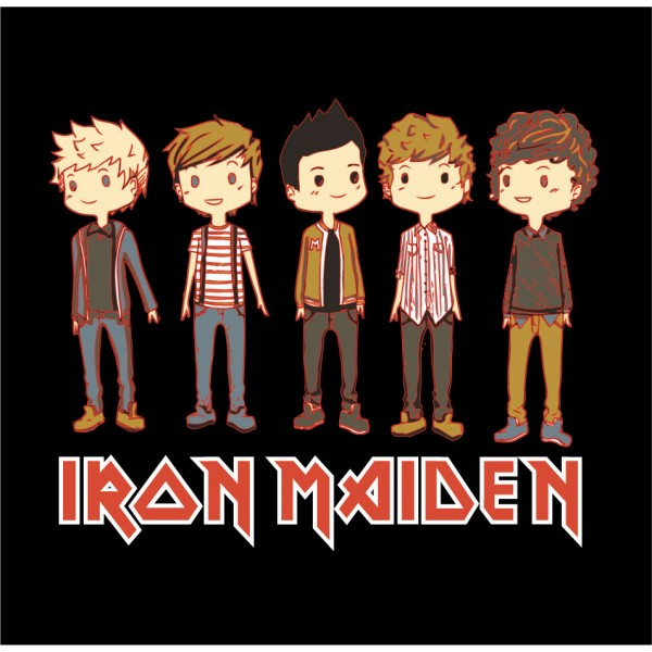 Iron Maiden - One Direction Parody