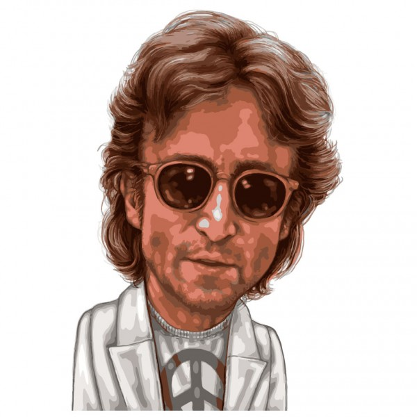 John Lennon Cartoon