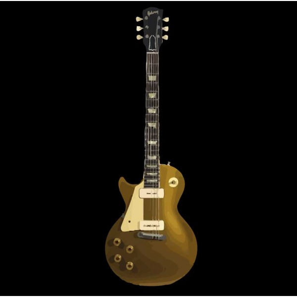 1954 Gibson Les Paul Goldtop Left Handed