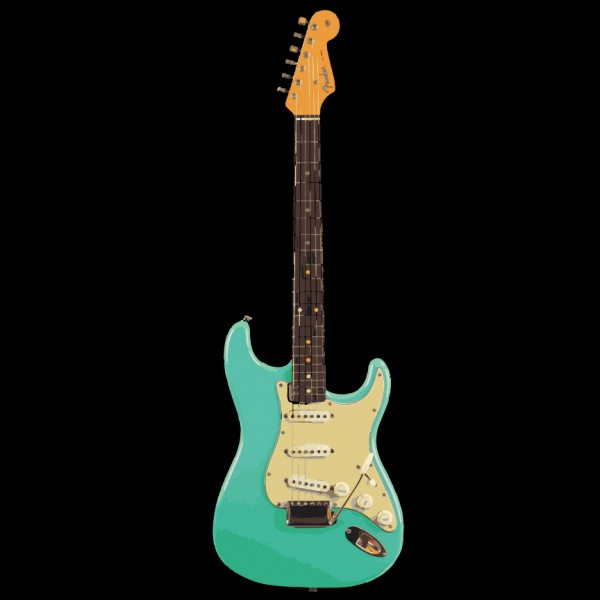 1962 Sea Foam Green Fender Stratocaster