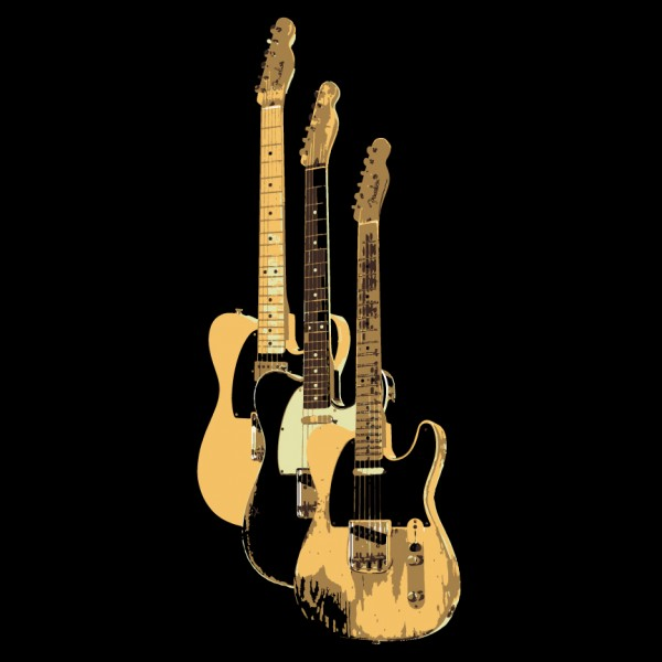 3 Telecasters