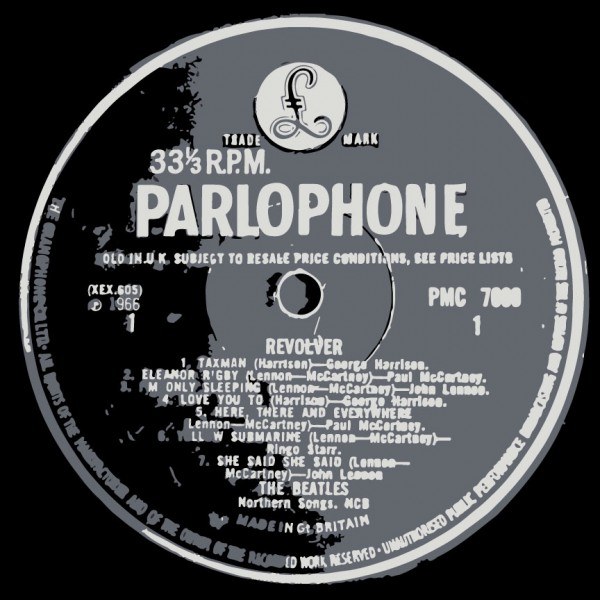 The Beatles Revolver Label