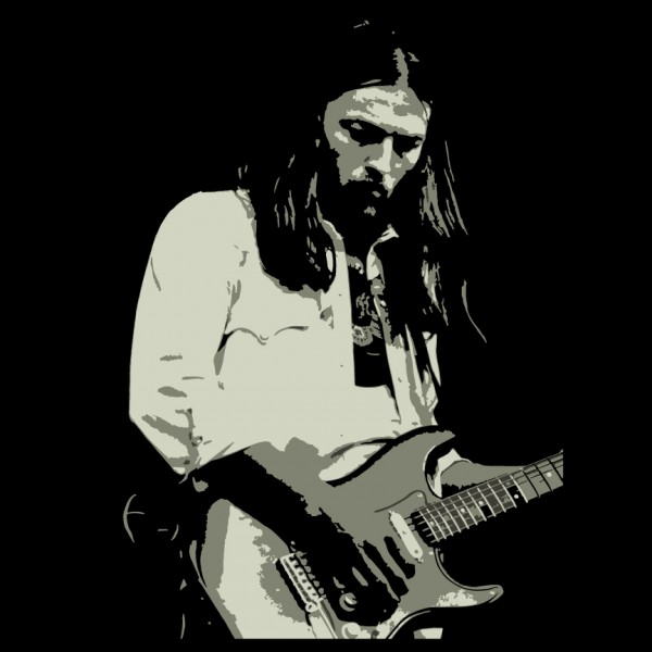 David Gilmour and Strat