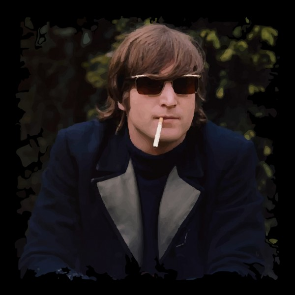 John Lennon Smoking