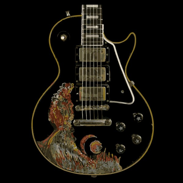 Keith Richards Les Paul