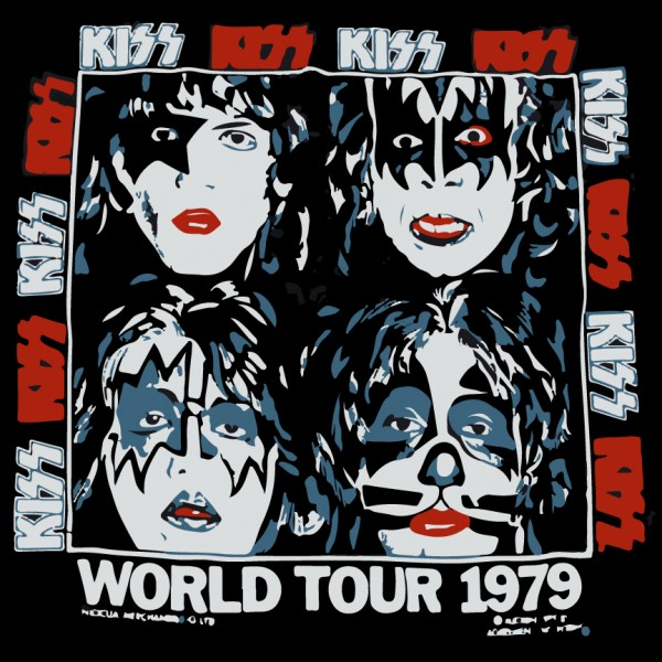 KISS World Tour 1979