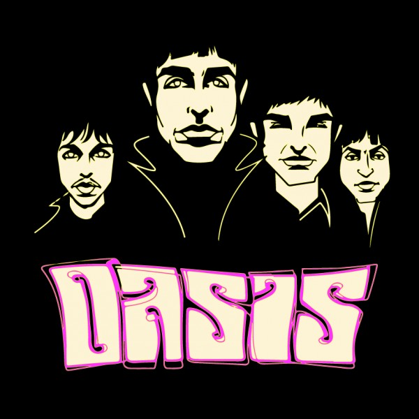 Oasis Cartoon